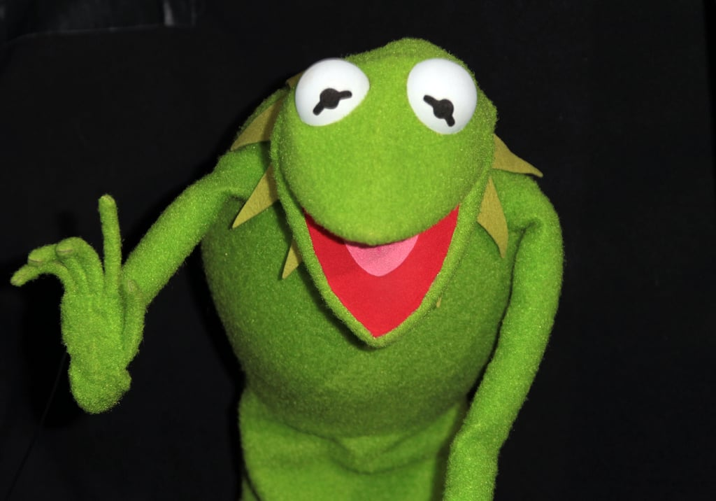 Kermit was really excited to see his fans.