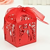 Laser Cut Paper Ribbon Candy Boxes