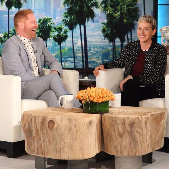 Jesse Tyler Ferguson Yeezy Shoes Story on Ellen