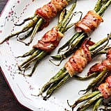 Honey Mustard Bacon-Wrapped Green Beans