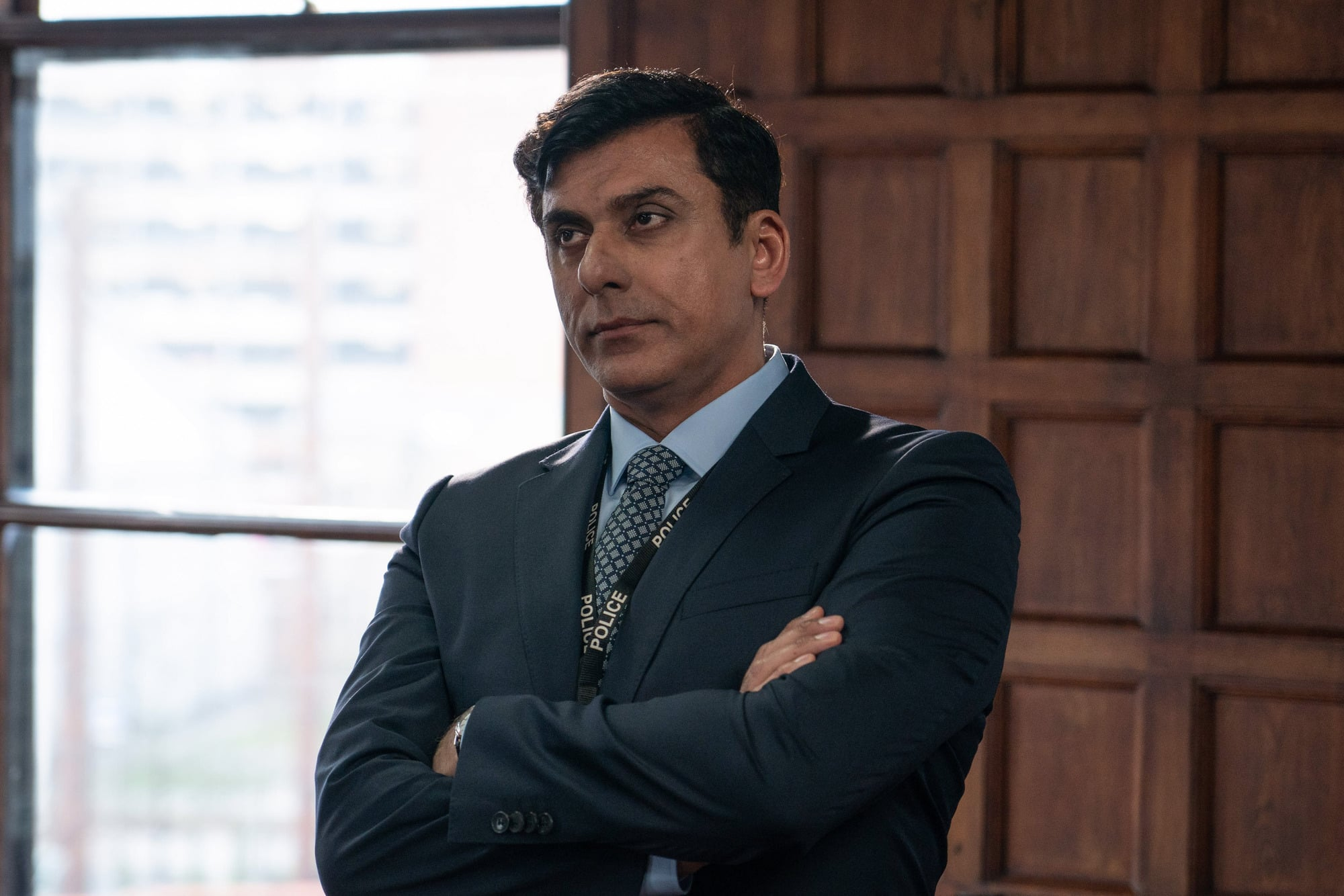 WARNING: Embargoed for publication until 00:00:01 on 30/03/2021 - Programme Name: Line of Duty S6 - TX: n/a - Episode: Line Of Duty - Ep 3 (No. n/a) - Picture Shows:  PCC Rohan Sindwhani (ACE BHATTI) - (C) World Productions - Photographer: Chris Barr