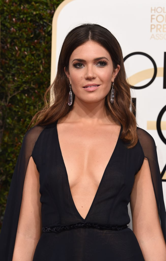Mandy Moore at the Golden Globes