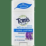 Tom's of Maine Long Lasting Deodorant Wild Lavender