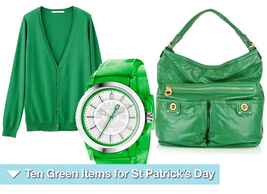 Ten Green Items of Clothing for St Patrick's Day 2010