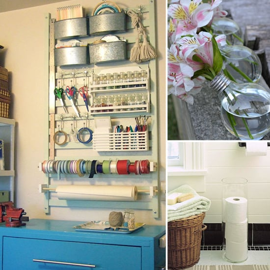 12 DIY Storage Solutions for Mama's Messiest Spaces