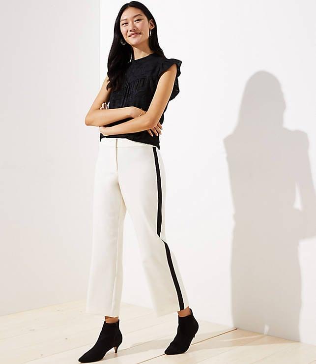 Pants in Side Stripe