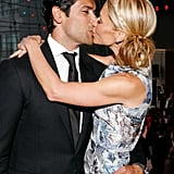 In April 2008, Mark and Kelly kissed for the cameras during the Discovery Upfront event in NYC.