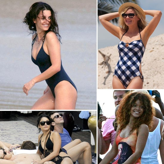 Celebs make a case for the one-piece suit.
