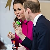During their 2014 visit to NYC, Kate and Will shared a packet of Scooby Doo fruit snacks.