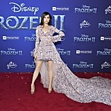 Sofia Carson at the Frozen 2 Premiere in Los Angeles