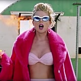 "Taylor Swift's Embellished Sunglasses in the ""You Need to Calm Down"" Music Video"