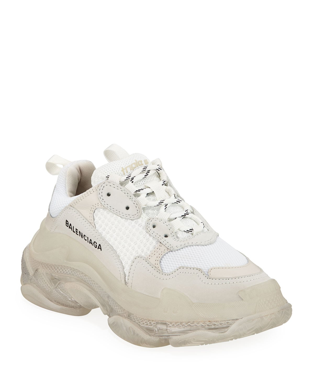 Balenciaga Triple S Air Nylon Sneakers