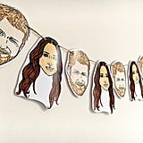 Prince Harry and Meghan Markel Bunting