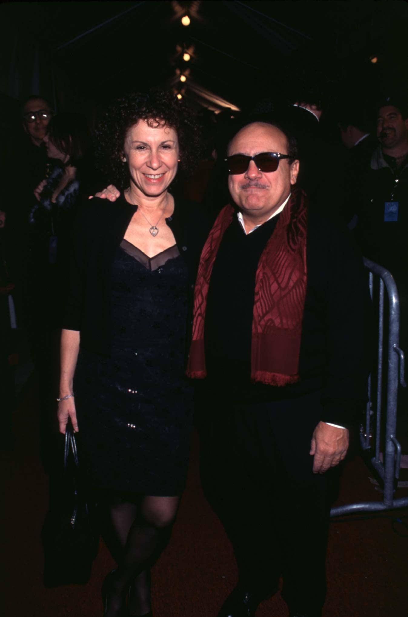 Danny DeVito and Rhea Perlman, 1998 | A Look Back at Love ...