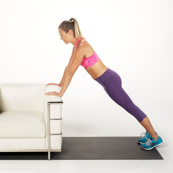 Easy Standing Exercises For Abs, Bum, Legs, Arms, and Chest