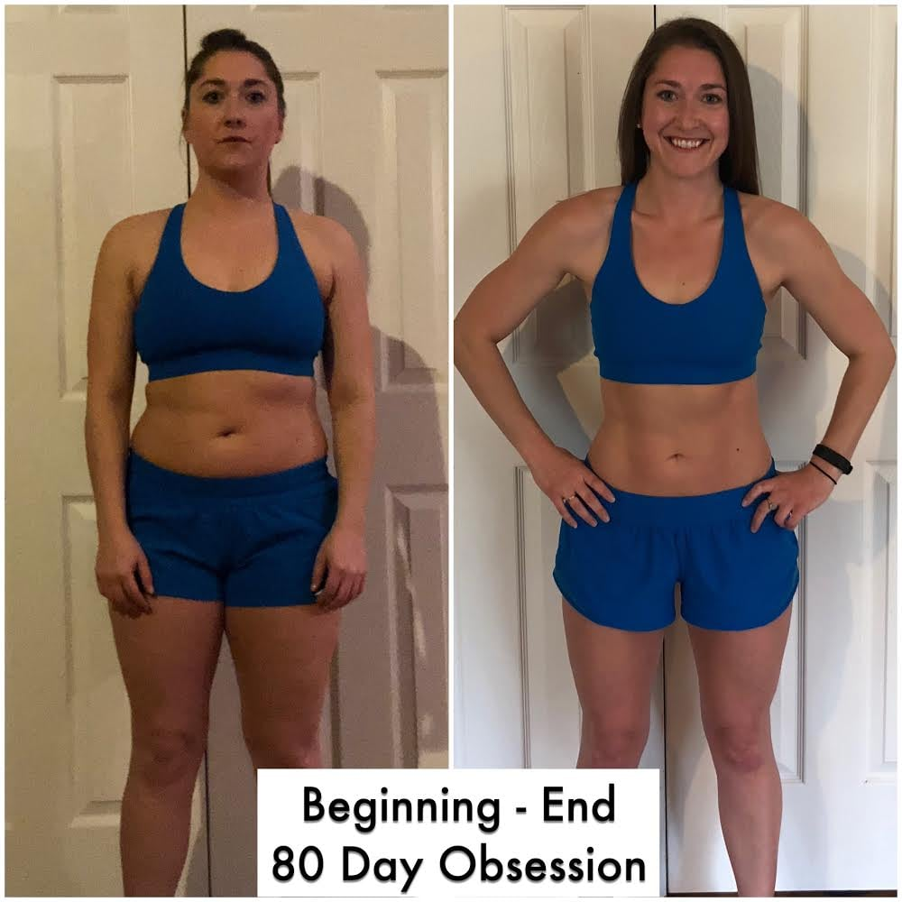 80 Day Obsession Before-and-After Story | POPSUGAR Fitness