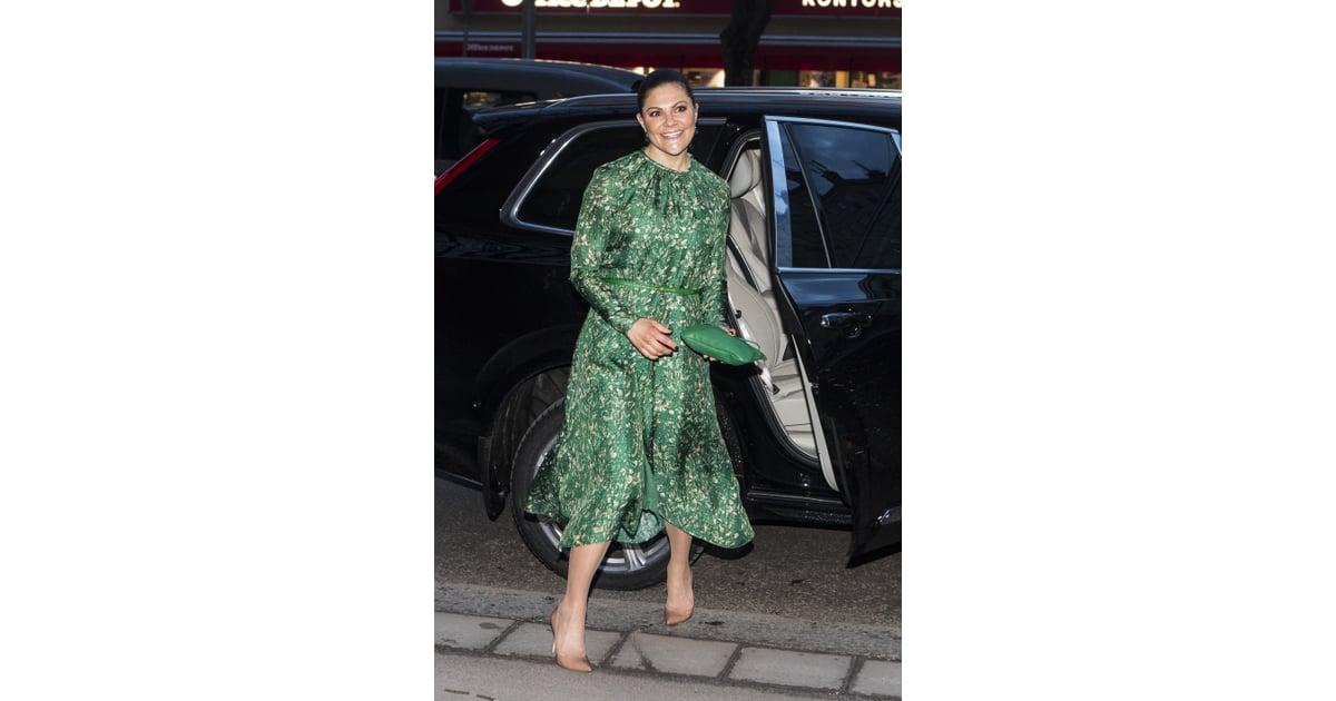 Crown Princess Victoria Wearing H&M Conscious Dress ...
