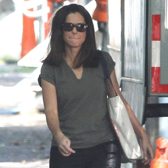 Sandra Bullock Filming The Heat Pictures