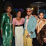 Kiki Layne, Regina King, Anderson .Paak, and Amandla Stenberg at the 2019 LACMA Art+Film Gala