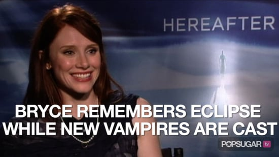 Video of Bryce Dallas Howard Talking About Eclipse and New Breaking Dawn Vampires 2010-10-15 13:06:50