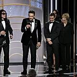 James Franco at the 2018 Golden Globes