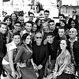 Michael Kors paid a visit to his LA store employees. Source: Instagram user michaelkors