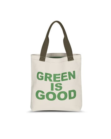 Hayden-Harnett Green is Good Tote, approx $29.48 from Stefani Bags