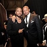 Pictured: Jussie Smollett and Terrence Howard