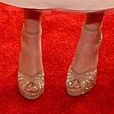 Hailee Steinfeld wore Jimmy Choo heels.