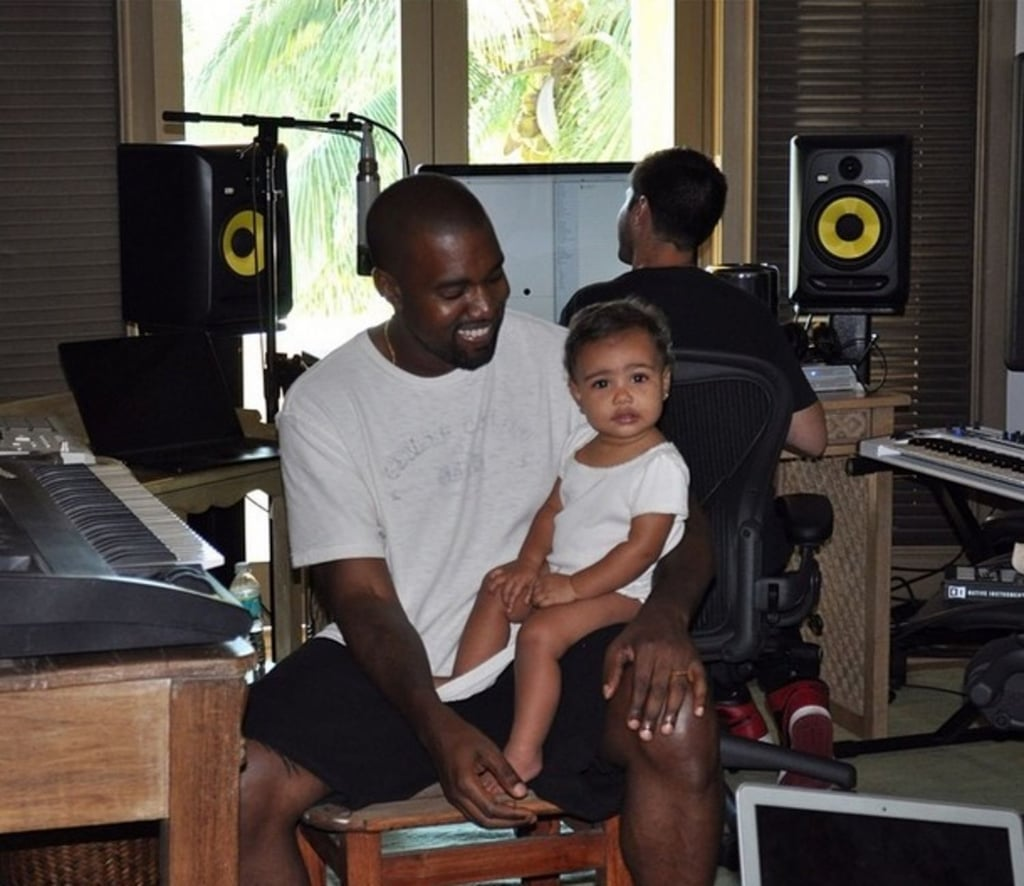 Kanye West Lyrics About Being a Dad