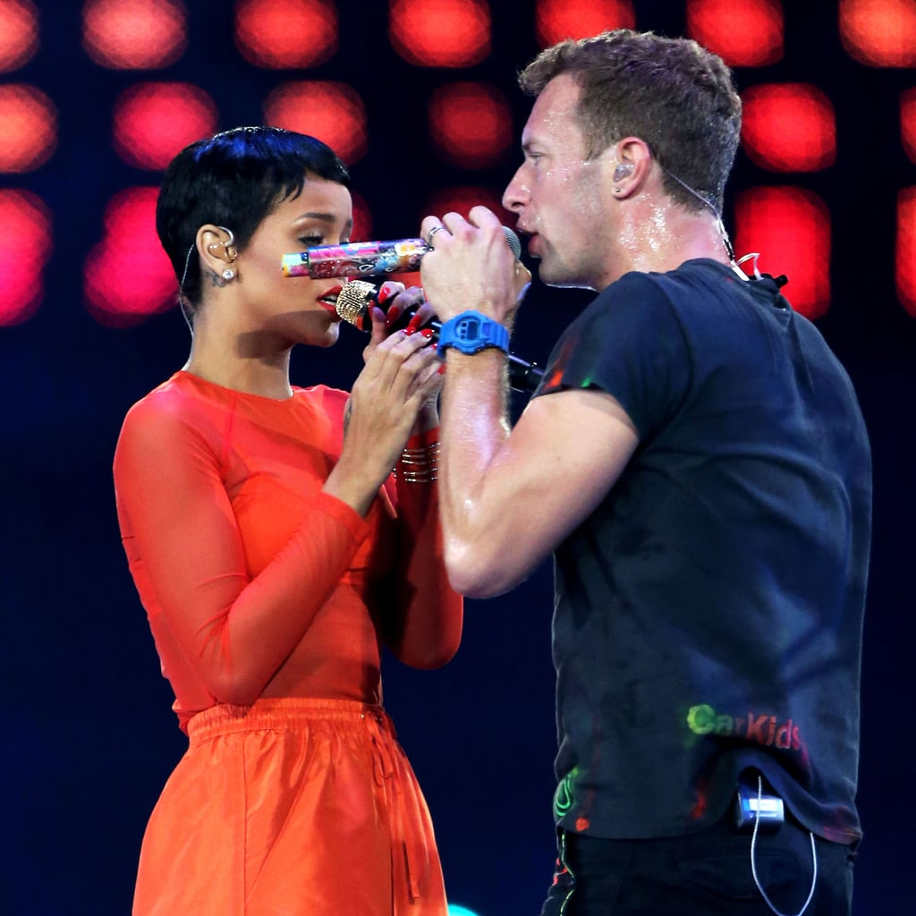 Jay-Z, Rihanna, Chris Martin And Coldplay Perform At 2012 London Paralympics Closing Ceremony