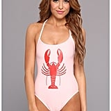 Wildfox Couture Lobster Swimsuit