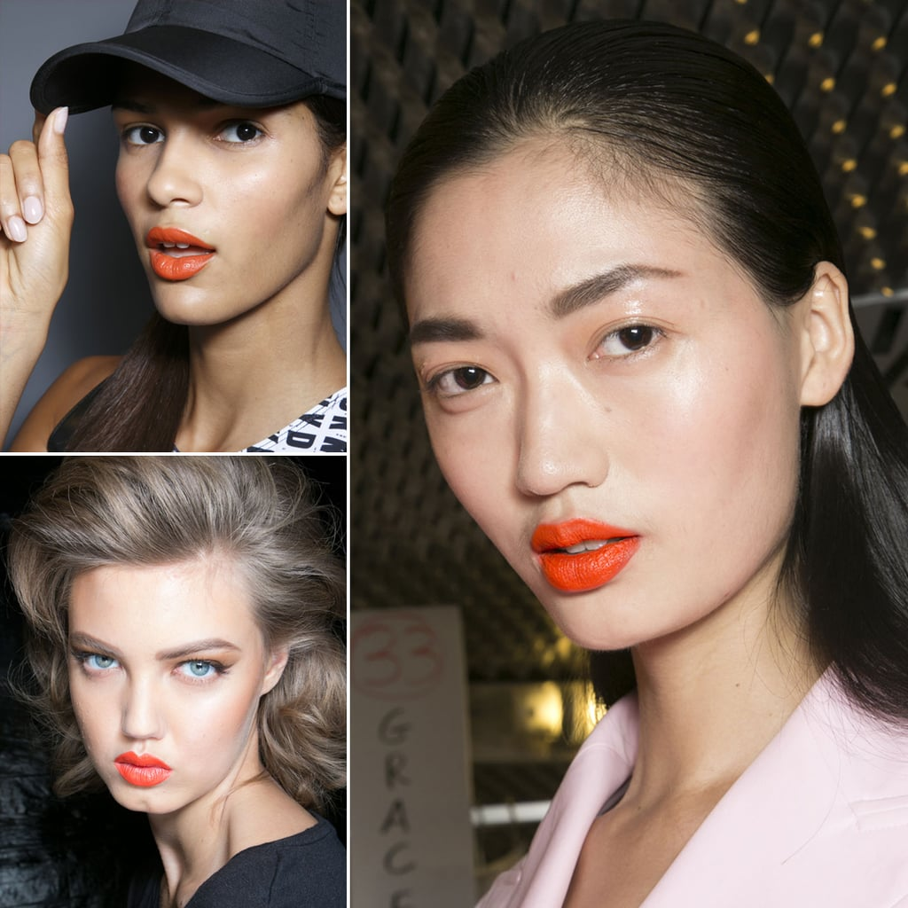 Orange Lips | Hair and Makeup Trends