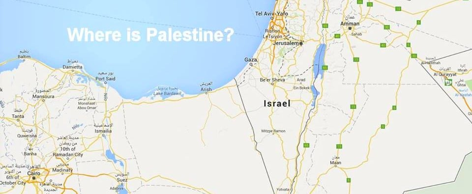 Can This Petition Help Put Palestine on Google Maps?