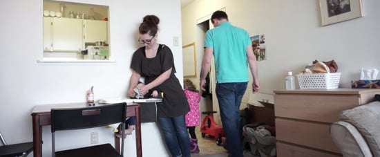 How Family of 5 Lives in 1-Bedroom Apartment