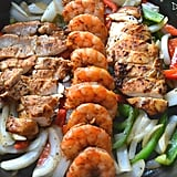 Shrimp and Chicken Fajitas