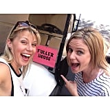 Jodie Sweetin reunited with Andrea Barber on the set.