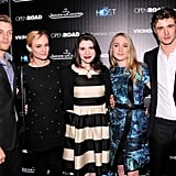 Max's latest movie, The Host, is a film adaptation of the book of the same name, written by Twilight author Stephenie Meyer (pictured, middle). The story — a mix of science-fiction and romance — is about parasitic aliens that are invading human bodies. Irish actress Saoirse Ronan (pictured, second from right) plays main character Melanie, while Jake Abel (pictured, left) and Diane Kruger (pictured, second from left) also co-star. Max plays Melanie's love interest, Jared. The movie hits Aussie cinemas today — make sure you check it out to see Max in action!