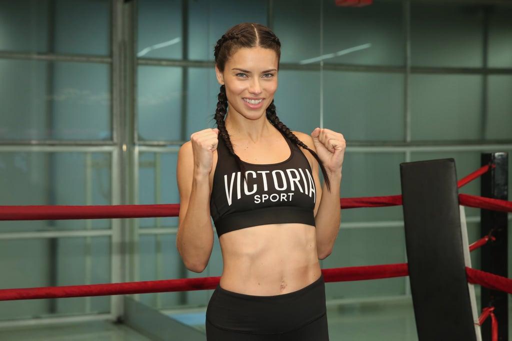 1202faab423 Adriana Lima s Best Workout Outfits