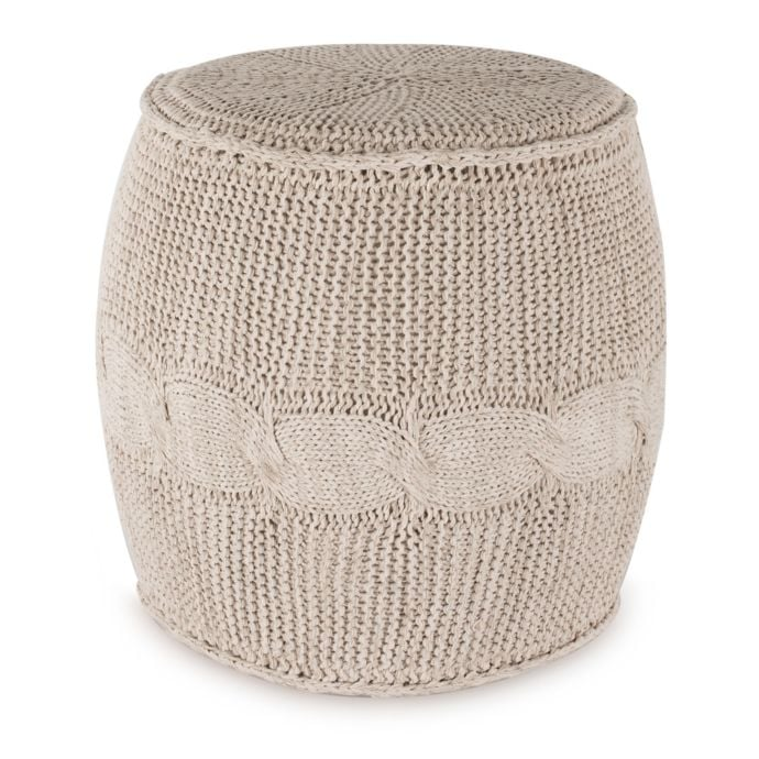 Ugg Cable Knit Drum In Ivory Best Bed Bath And Beyond