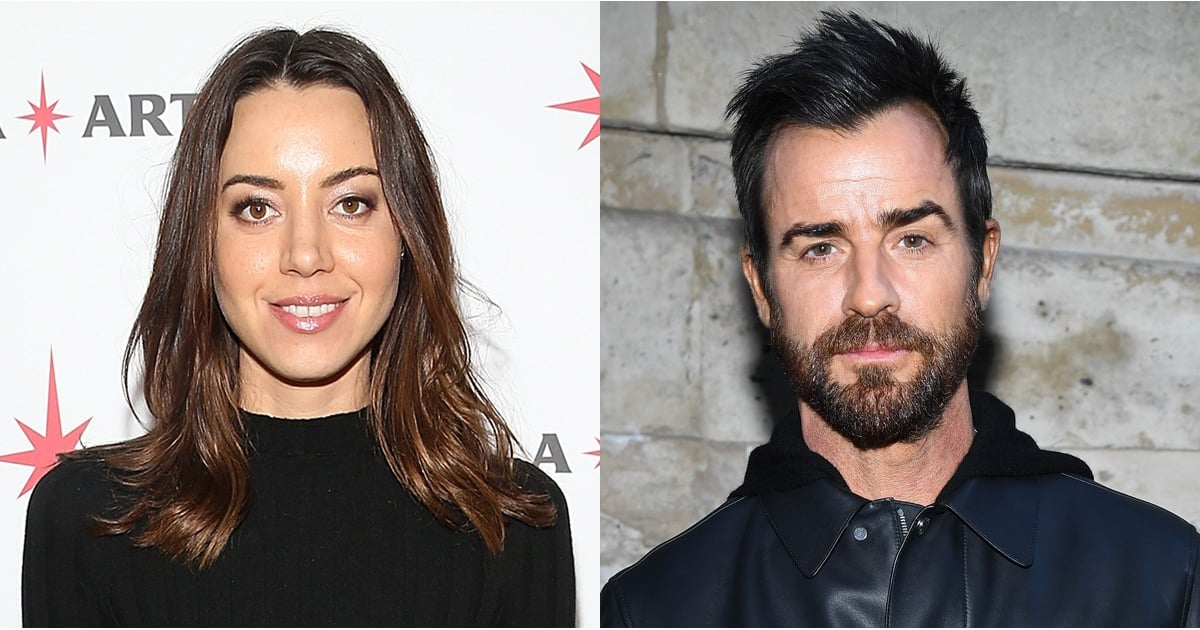 Are Justin Theroux and Aubrey Plaza Dating  POPSUGAR