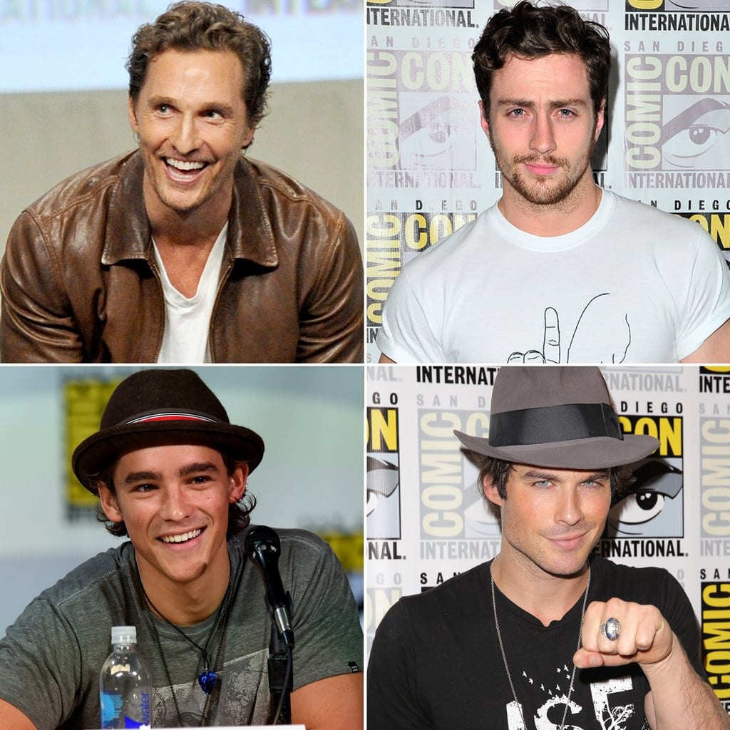 Hot Guys at Comic-Con 2014 | Pictures
