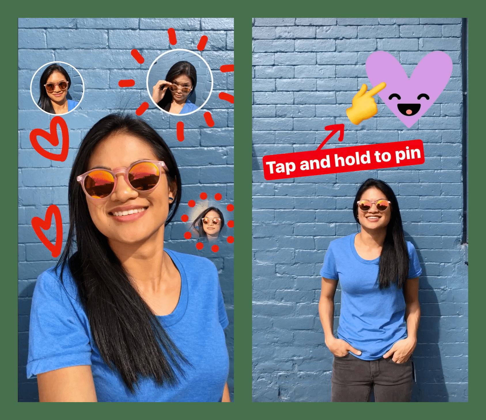 How Do I Make a Selfie Sticker on Instagram? | POPSUGAR News