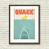 Jaws Spoof Limited Edition Art Print