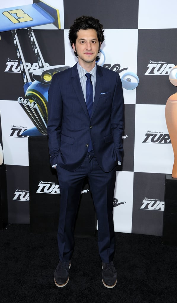 Ben Schwartz made an appearance at the premiere of Turbo in NYC on Tuesday.