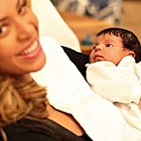 10. Blue Ivy Carter Is Born