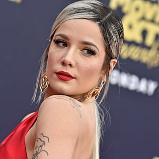 Halsey Got a Face Tattoo