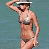 Julianne Hough showed off her bikini body in Miami.