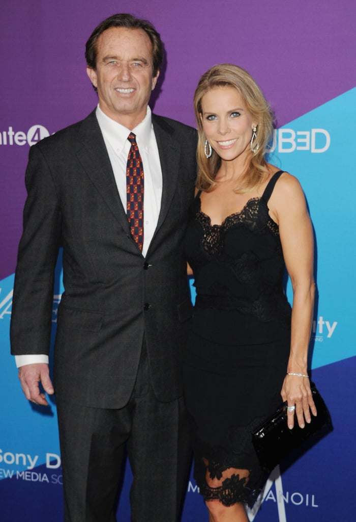 Cheryl Hines posed with Robert F. Kennedy Jr.