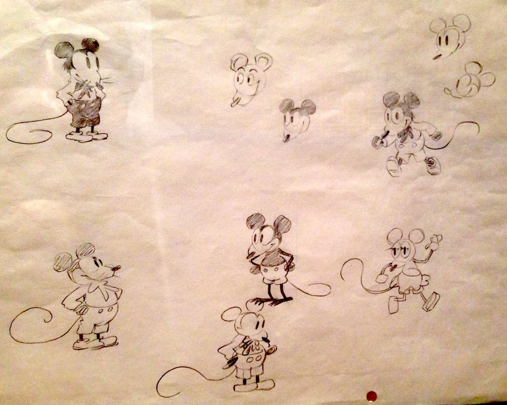 Mickey Mouse would be Mortimer Mouse if Walt's wife, Lillian, hadn't convinced him to change it.